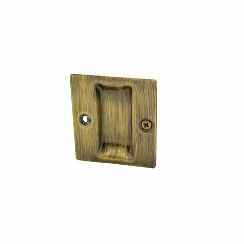 Trimco 1064FCP609 Flush Cup Pocket Door Pull Antique Brass Finish