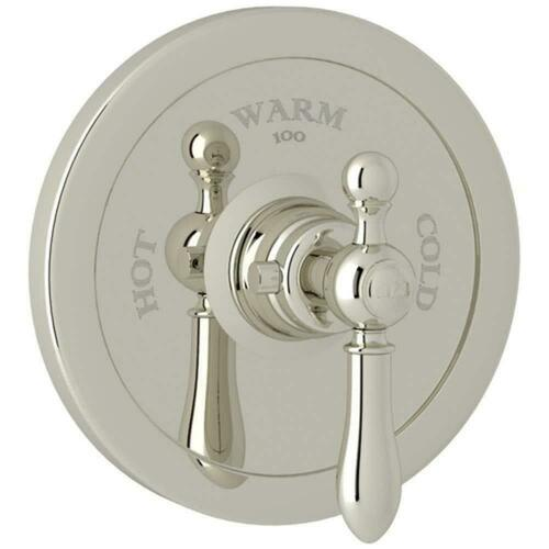 Rohl AC720LM-PN/TO Italian Bath Arcana Single Handle Bathtub & Shower Faucet, Polished Nickel