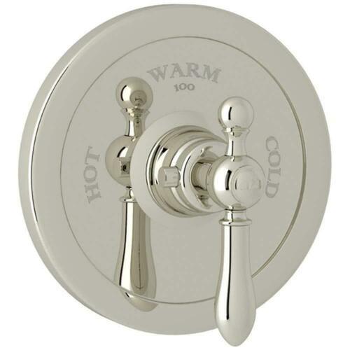 Rohl AC720LM-PN/TO Italian Bath Arcana Single Handle Bathtub & Shower Faucet, Polished Nickel