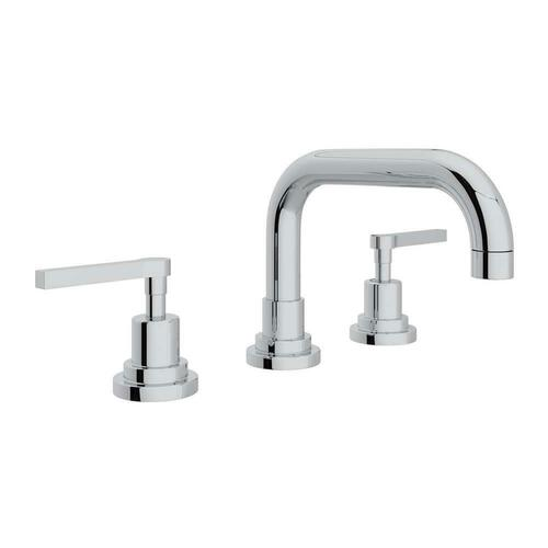 Rohl A2218LMAPC-2 Lombardia Two Handle Widespread Bathroom Sink Faucet, Polished Chrome