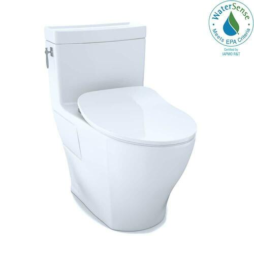 Toto MS626234CEFG#01 Aimes 1.28 gpf Elongated One Piece Toilet, Cotton