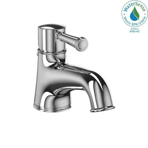 Toto TL220SD12#CP Vivian 1.2 gpm 1 Hole Metering Bathroom Sink Faucet with Single Lever Handle, Polished Chrome