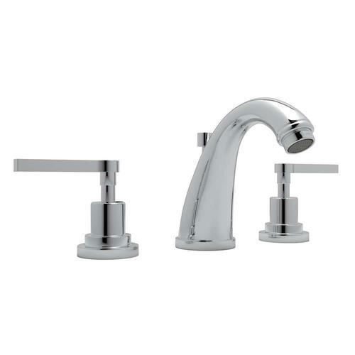 Rohl A1208LMAPC-2 Avanti Two Handle Widespread Bathroom Sink Faucet, Polished Chrome