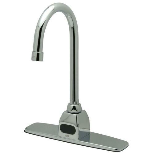 Zurn Z6920-XL-CP8-FC1.5 Deck Mount Service Faucet, Polished Chrome