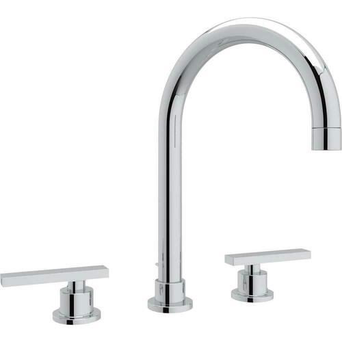 Rohl A2228LMAPC-2 Italian Country Bath Two Handle Widespread Bathroom Sink Faucet, Polished Chrome