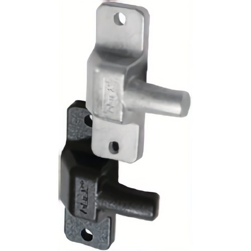 Detex DX2 2 Bolts and Through Bolt Mounting Hardware Gray Finish
