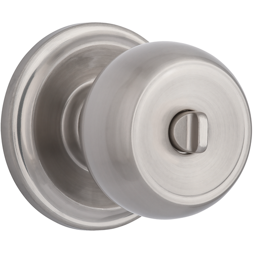 Brinks 23021-119 Stafford Privacy Push Pull Rotate Lockset Satin Nickel Finish
