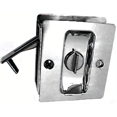 Trimco 1065.605 Privacy Pocket Door Lock Square Cutout for 1-3/8
