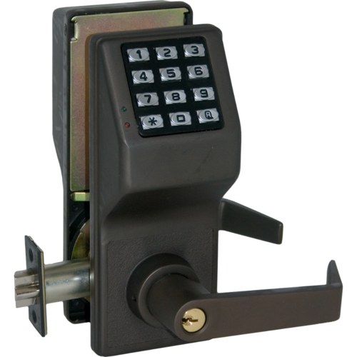 Alarm Lock DL2700/10B Trilogy Electronic Digital Lever Lock Oil Rubbed Bronze Finish