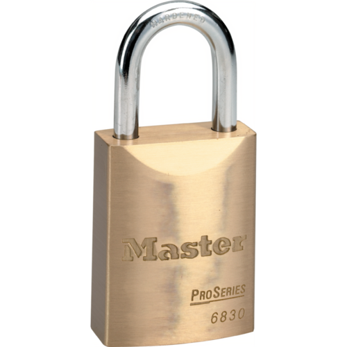 Master Lock 6842D045KZ ProSeries Solid Brass Rekeyable Key-in-Knob Padlock with 1-3/4