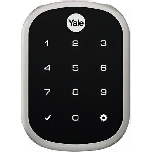 Yale YRD256 CBA 619 Kit - Key Free Ts Connect By August Slim