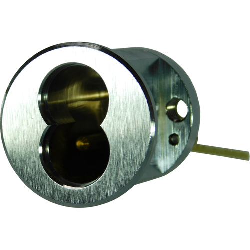 GMS ICR7-26D 7 Pin Small Format Best Interchangeable Core Rim Cylinder Housing Satin Chrome Finish