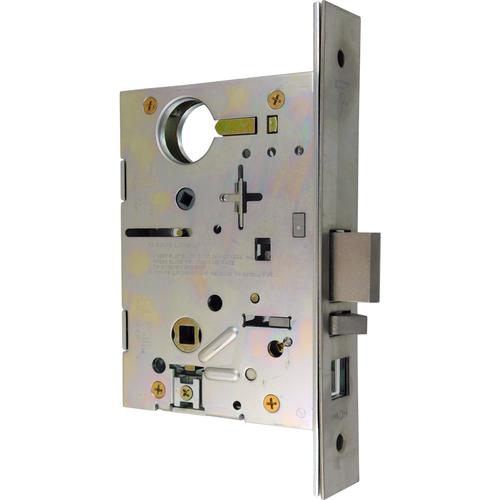 Best 45HW-CAD-EU-626-24V Electromechanical Storeroom 24 Volt Electrically Unlocked Mortise Lock Body Only Satin Chrome Finish