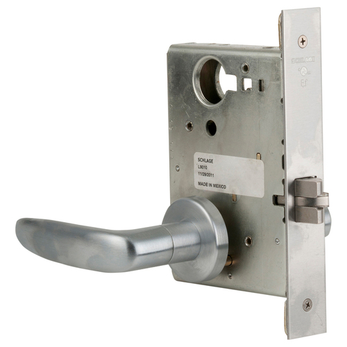 Schlage L9010 07A 626 Lock Mortise Lock