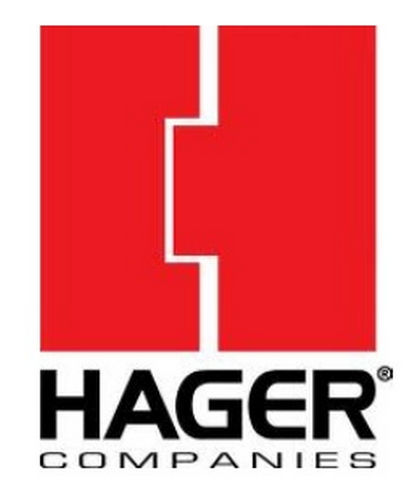 Hager 234W26D Ridged Concave Wall Stop, # 053236 Satin Chrome Finish
