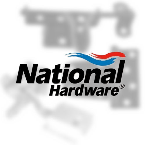 National Hardware N198051 V1931 Rigid Door Stop Solid Brass Finish Must be Purchased in Multiples of 5