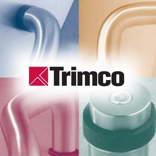 Trimco 1064FCP622 Flush Cup Pocket Door Pull Satin Black Finish