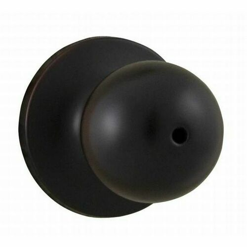 Weslock 00210G1G1FR20 Hudson Privacy Lock with Adjustable Latch and Full Lip Strike Oil Rubbed Bronze Finish