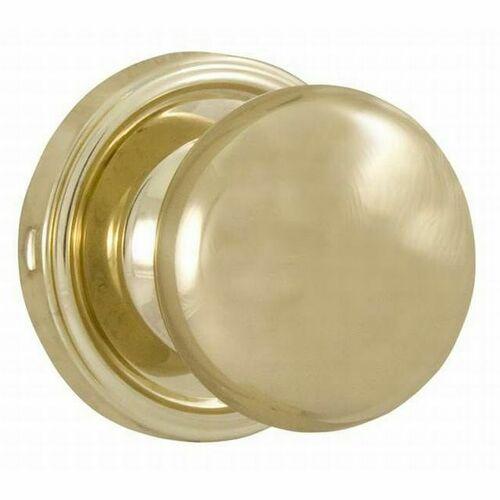 Weslock 00600I3I3SL20 Impresa Passage Lock with Adjustable Latch and Full Lip Strike Bright Brass Finish