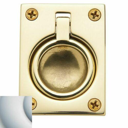 Baldwin 0394264 Flush Ring Pull Satin Chrome Finish