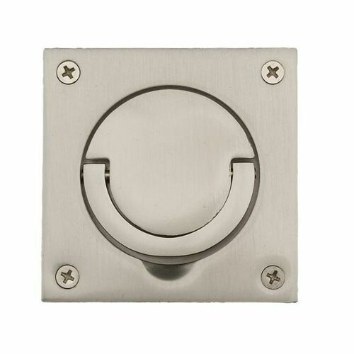 Baldwin 0397150SOL Solid Spindle Ring Pull Satin Nickel Finish