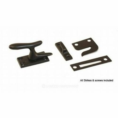 Ives 066A10B Aluminum Casement Fastener with Multiple Strikes Oil Rubbed Bronze Finish