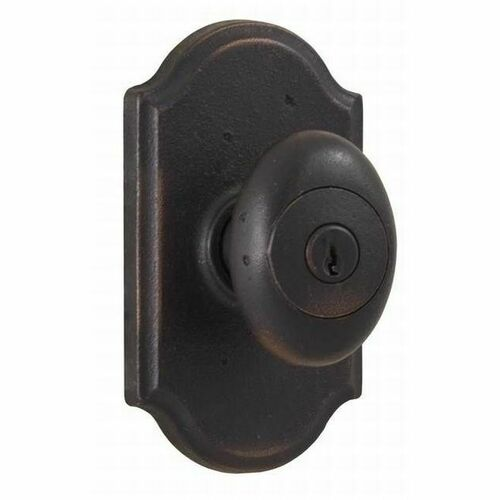 Weslock 07140M1M1SL23 Durham Premiere Entry Lock with Adjustable Latch and Full Lip Strike Oil Rubbed Bronze Finish