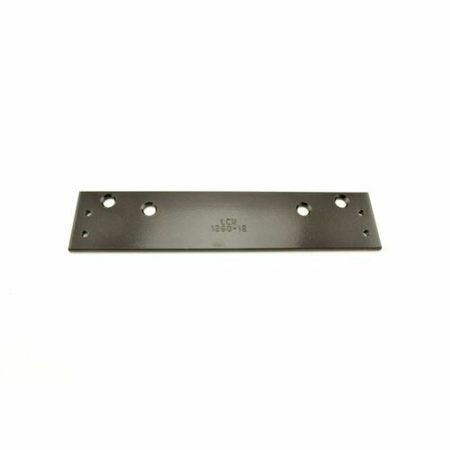 LCN 126018DKB Drop Plate 695 Dark Bronze Finish