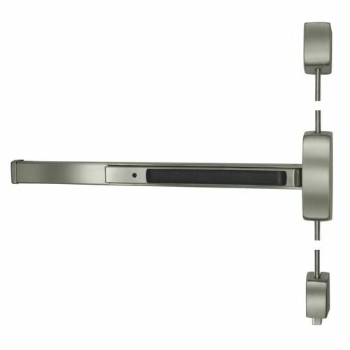 Sargent 128715FLESSTRIM32DLHR7 UL Fire Rated Extra Heavy Duty 7' Surface Vertical Rod Exit Device Less 15 Trim Left Hand Reverse for 33