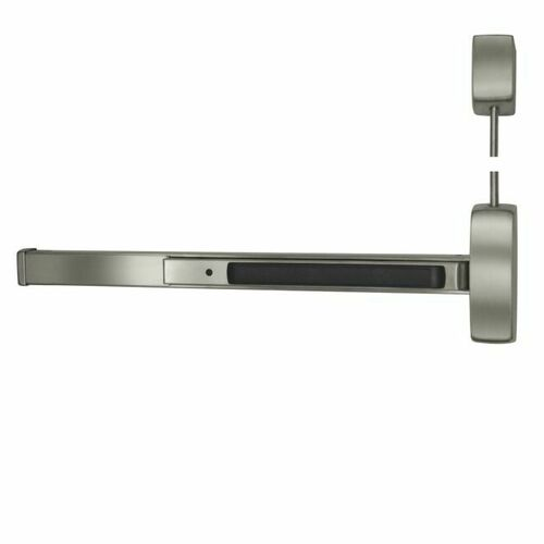 Sargent 12NB8710F32DLHR7 UL Fire Rated Extra Heavy Duty 7' Surface Vertical Rod Exit Device Less Bottom Rod Exit Only Left Hand Reverse for 33