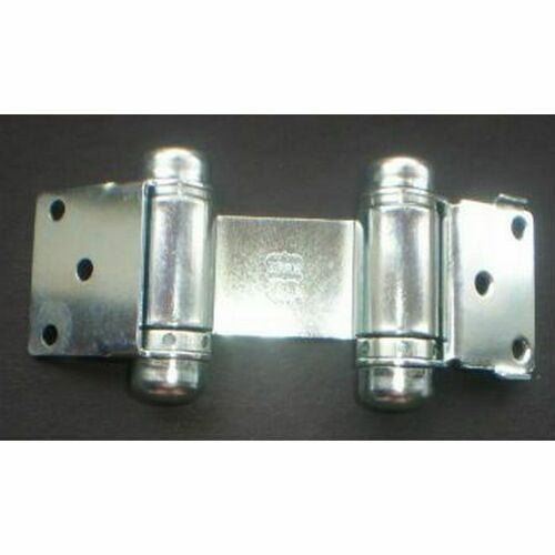 Bommer 1515651 Light Duty Double Acting Spring Mortise Hinge Bright Chrome Finish