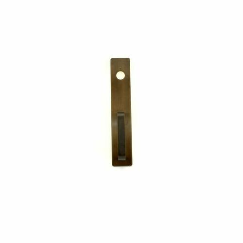 Stanley 1703A613 Key Retracting Latchbolt Pull Exit Trim with A Pull Oil Rubbed Bronze Finish