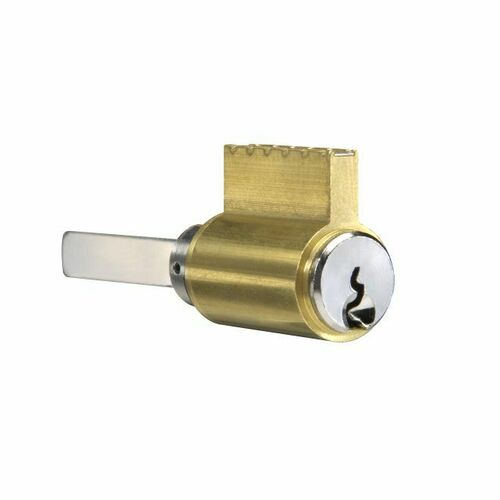 Yale 1802-GB626 6 Pin Single Section GB Keyway Cylinder for Key in Levers Satin Chrome Finish