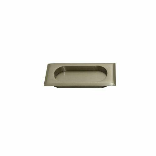 Emtek 2201US15 Rectangular Flush Pull, Satin Nickel Finish