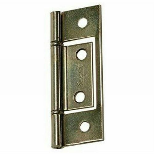 Stanley 2203BT Non Mortise Hinge # 521012 Brass Tone Finish