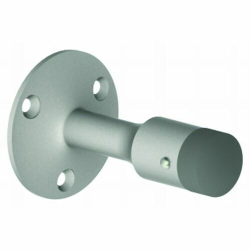Hager 255S26D Wall Stop with Screw Holes, # 000917 Satin Chrome Finish