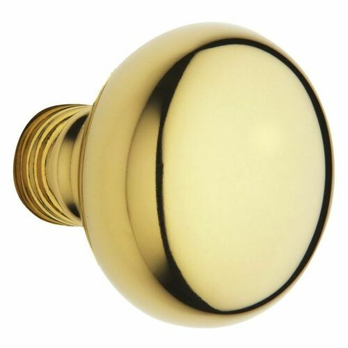 Baldwin 5000003MR Pair 5000 Knob Less Rose Lifetime Brass Finish