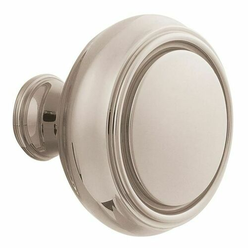 Baldwin 5068055IMR Single 5068 Knob Less Rose Lifetime Bright Nickel Finish