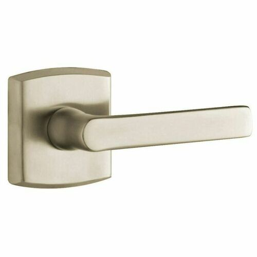 Baldwin 5485V150LMR Single Left Hand 5485V Lever Less Rose Satin Nickel Finish