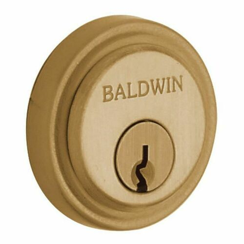 Baldwin 6757033 Colonial Cylinder Collar Vintage Brass Finish