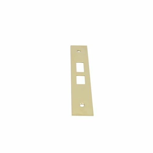 Baldwin 68100030004 Latch & Deadbolt Armor Front Lifetime Brass Finish