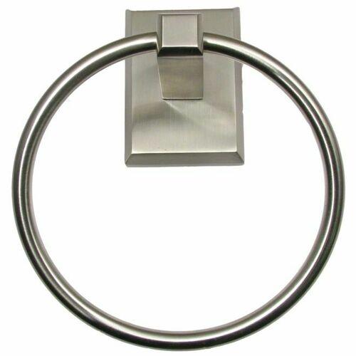 Rusticware 8786SN Utica Towel Ring Satin Nickel Finish