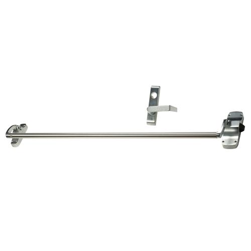 Von Duprin 88L26DRH Right Hand Reverse Rim Push Bar Exit Device with Lever Trim, Satin Chrome Finish