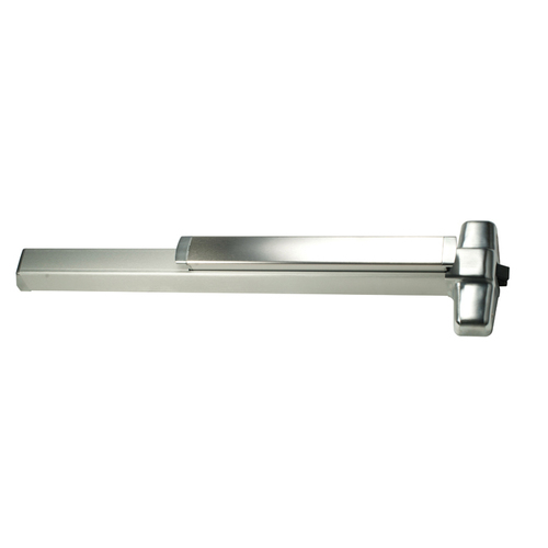 Von Duprin 98EOF26D4 4' Fire Rated Rim Smooth Case Exit Device, Satin Chrome Finish