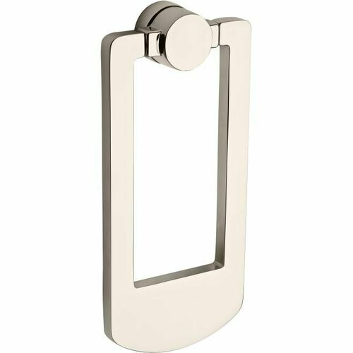 Baldwin 9BR7002009 Contemporary Door Knocker Bright Nickel Finish