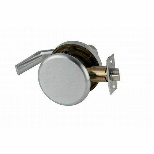 Schlage AL25SAT626 AL Series Exit Saturn Lock with 11096 Latch 10025 Strike Satin Chrome Finish