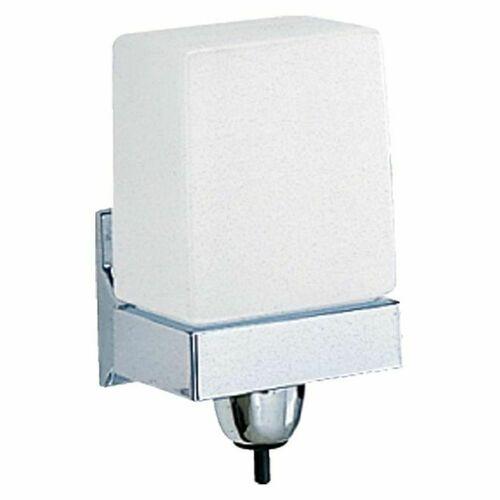 Bobrick B155 24 Ounce Liquid Soap Dispenser Satin Chrome Finish