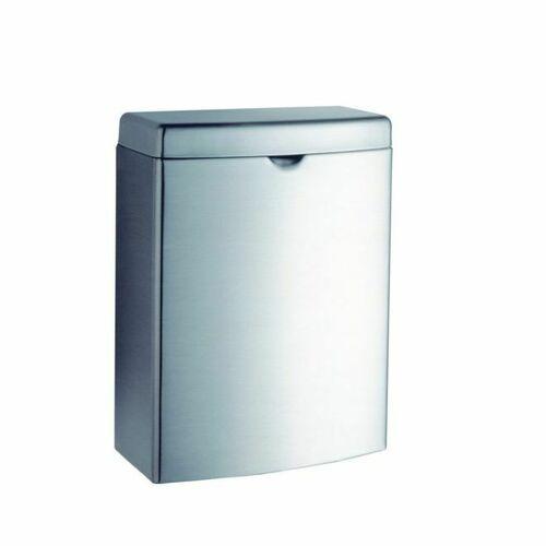 Bobrick B270 Contura Sanitary Napkin Disposal Satin Stainless Steel Finish