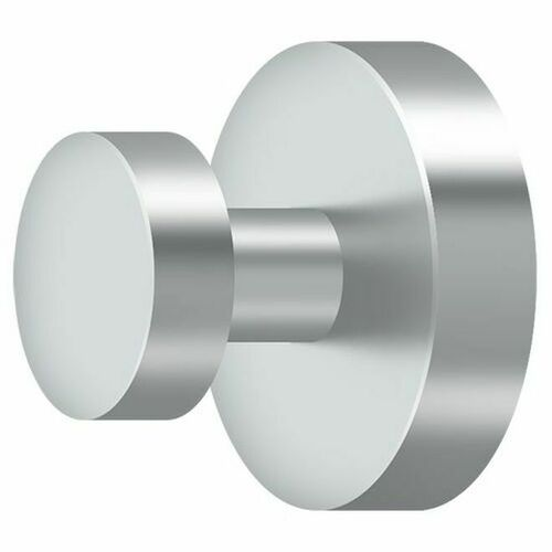 Deltana BBS2009-26 Single Robe Hook BBS Series, Polished Chrome