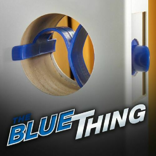 Perfect Products BP01240 Case of 300 Blue Thing Temporary Door Latches